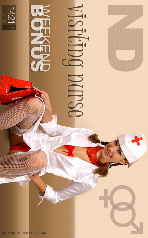 Alexandra - `Visiting Nurse` - for NUDOLLS VIDEO