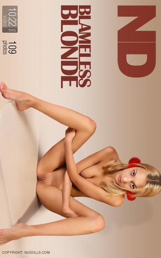 Anna - `Blameless Blonde` - for NUDOLLS VIDEO