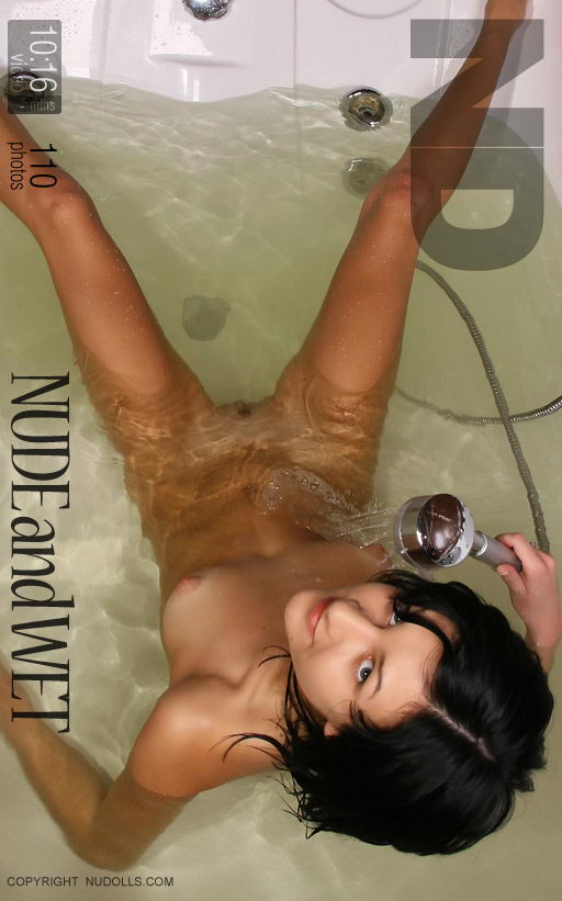 Alesya - `Nude And Wet` - for NUDOLLS VIDEO