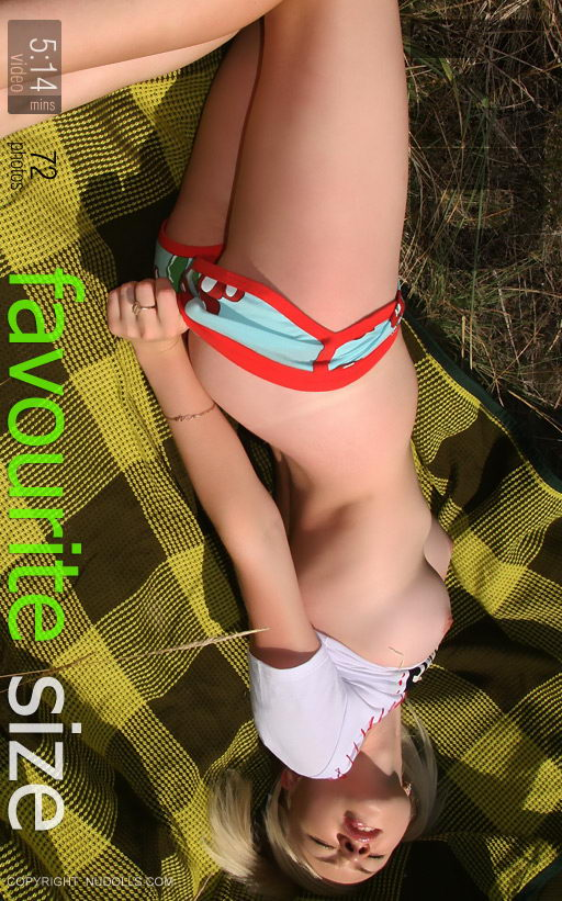 Vlada - `Favourite Size` - for NUDOLLS VIDEO