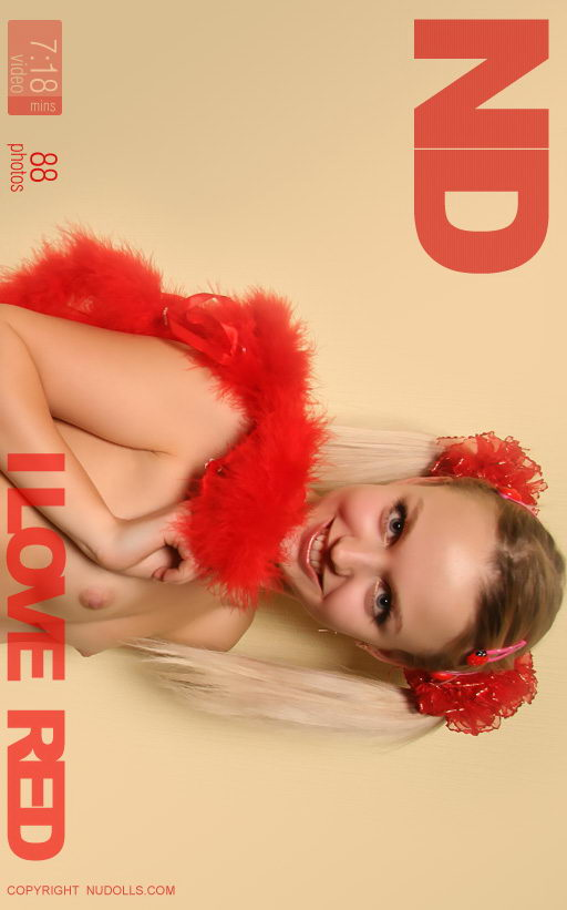 Daria - `I Love Red` - for NUDOLLS VIDEO