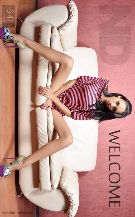Viktoriya - `Welcome` - for NUDOLLS VIDEO