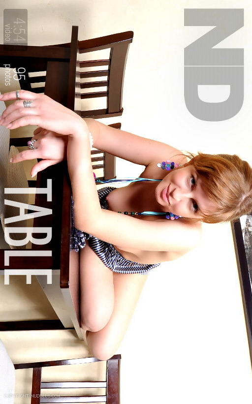 Kristina - `Table` - for NUDOLLS VIDEO