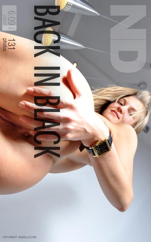 Alina - `Back In Black` - for NUDOLLS VIDEO