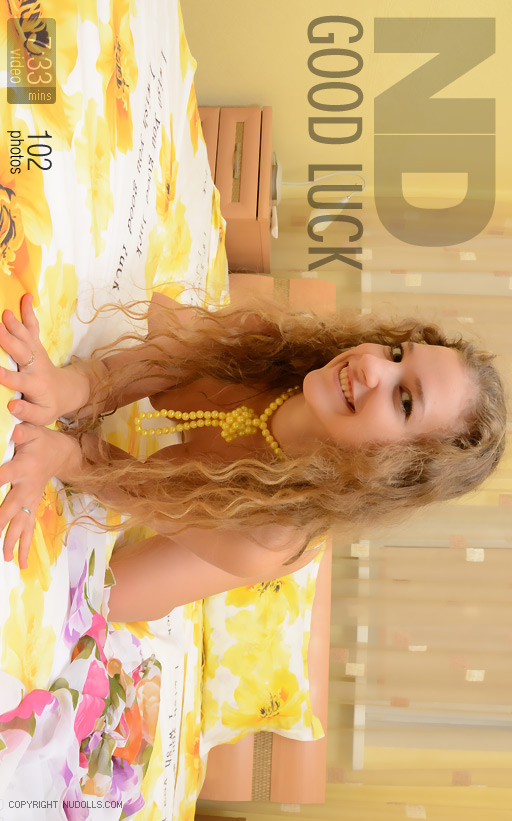 Olesya - `Good Luck` - for NUDOLLS VIDEO