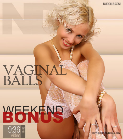 Viktoriya - `Vaginal Balls` - for NUDOLLS