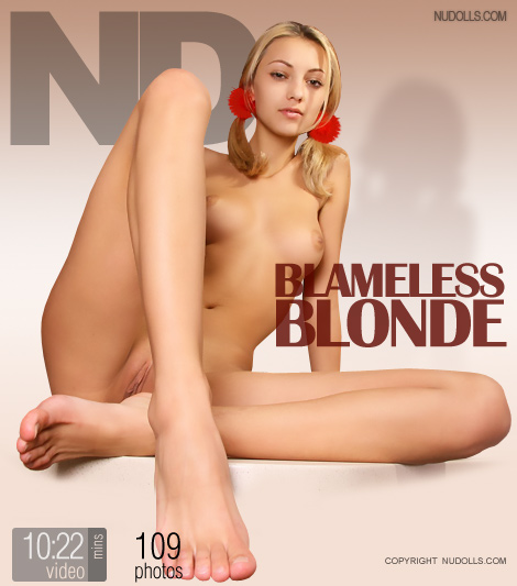 Anna - `Blameless Blonde` - for NUDOLLS