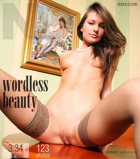 Alex - `Wordless Beauty` - for NUDOLLS