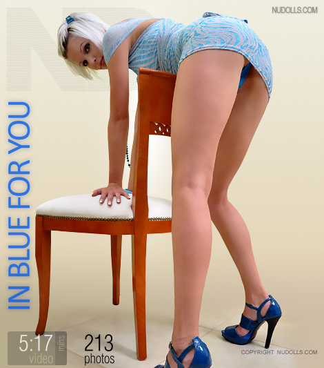 Iriska - `In Blue For You` - for NUDOLLS