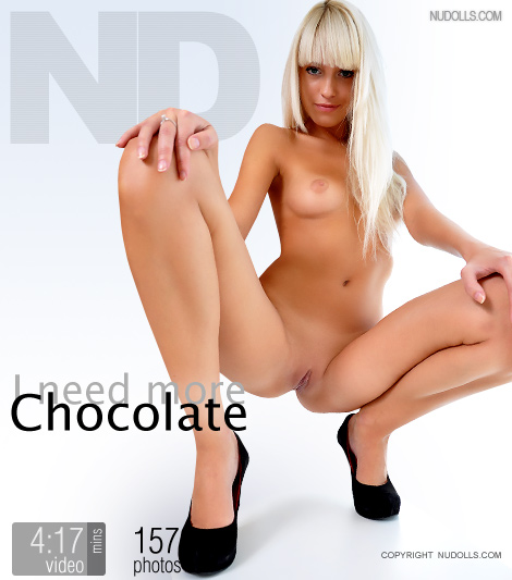 Olena - `I Need More Chocolate` - for NUDOLLS