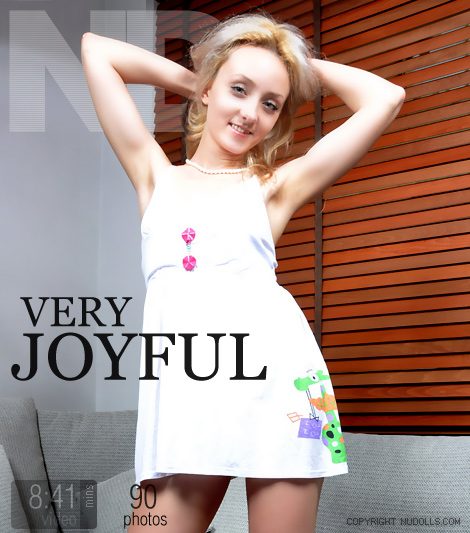 Anna - `Very Joyful` - for NUDOLLS