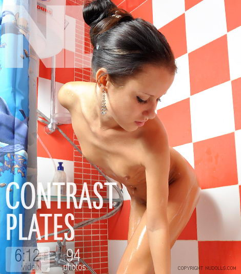 Nelli - `Contrast Plates` - for NUDOLLS