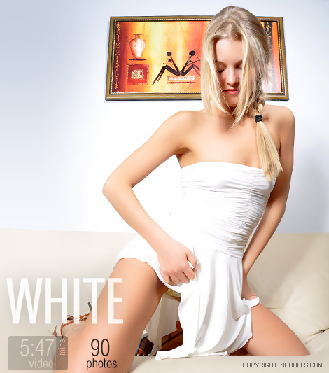 Alina - `White` - for NUDOLLS