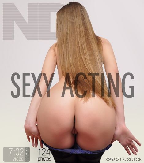 Vika - `Sexy Acting` - for NUDOLLS