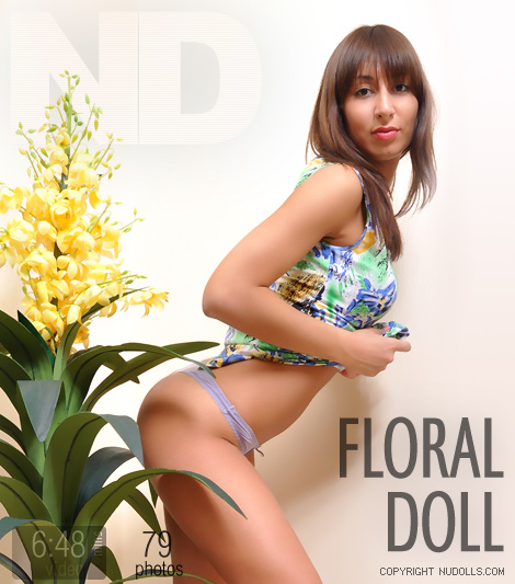 Aynur - `Floral Doll` - for NUDOLLS