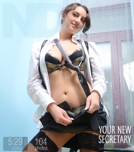 Lena - `Secretary` - for NUDOLLS