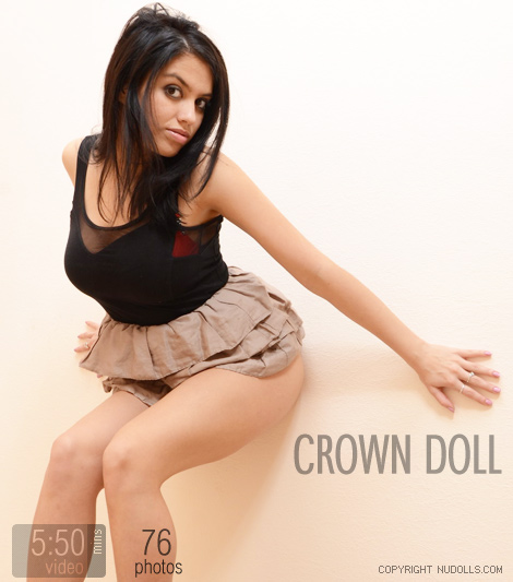 Margo - `Crown Doll` - for NUDOLLS