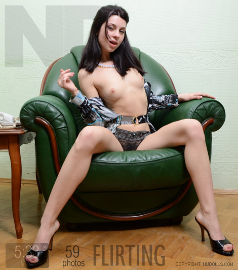Alex - `Flirting` - for NUDOLLS