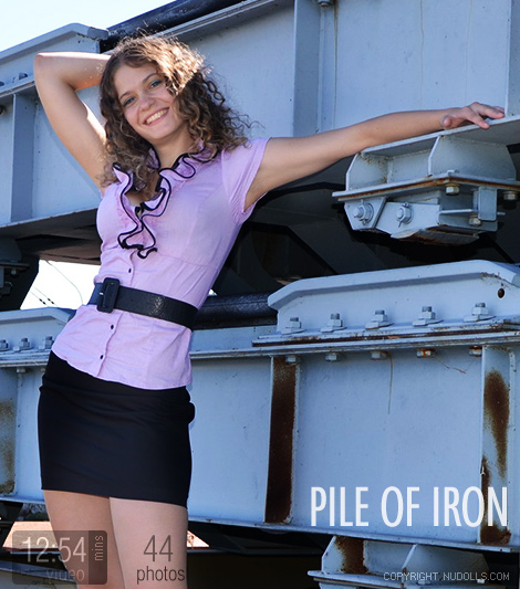 Lena - `Pile of Iron` - for NUDOLLS