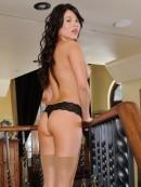 Shyla Jennings - Shyla Strips On Stairs