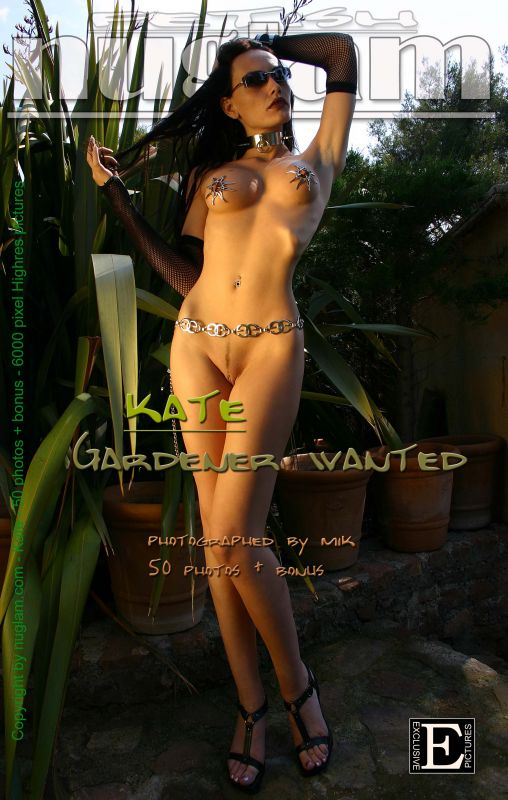 Kate - `Gardener` - by Mik Hartmann for NUGLAM