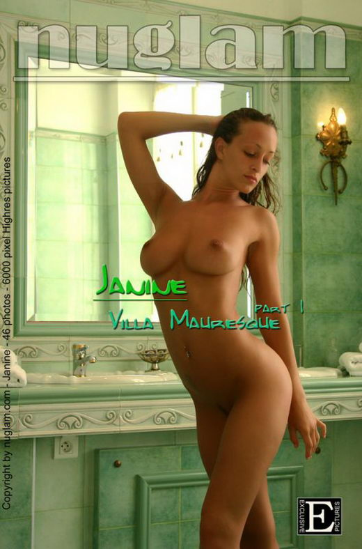Janine - `Villa - part1` - by Mik Hartmann for NUGLAM
