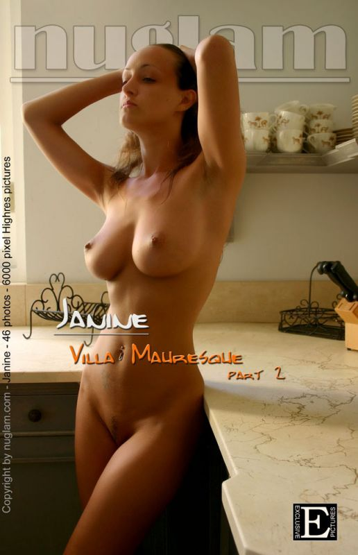 Janine - `Villa - part2` - by Mik Hartmann for NUGLAM