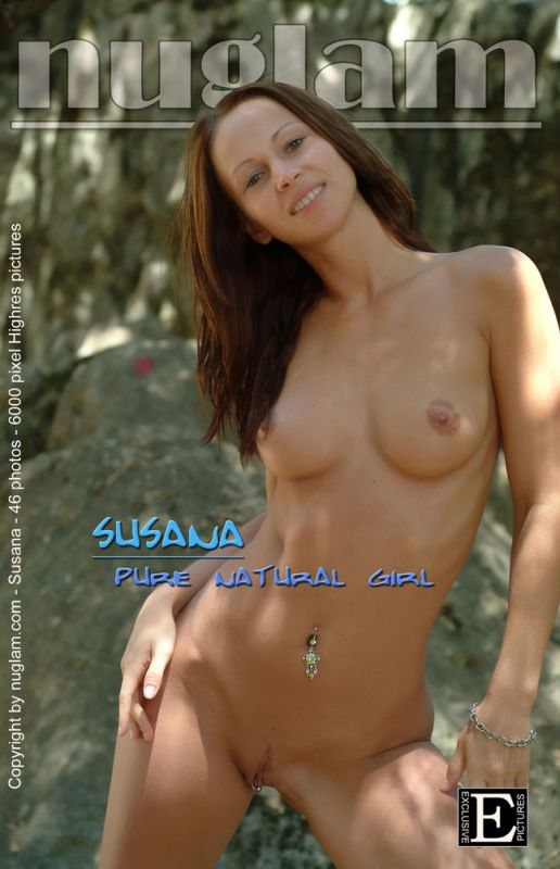 Susana - `Pure Natural` - by Mik Hartmann for NUGLAM