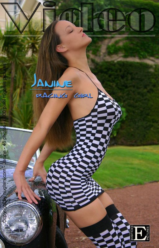 Janine - `Racing Girl` - by Mik Hartmann for NUGLAM