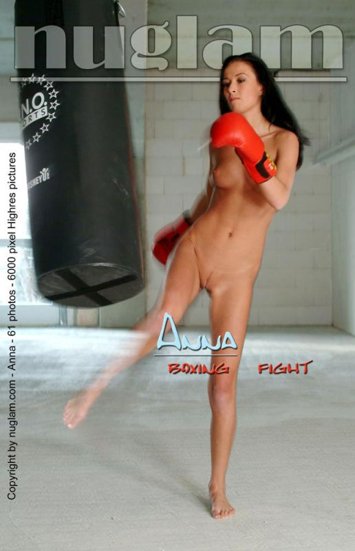 Anna - `Boxing Fight` - by Mik Hartmann for NUGLAM