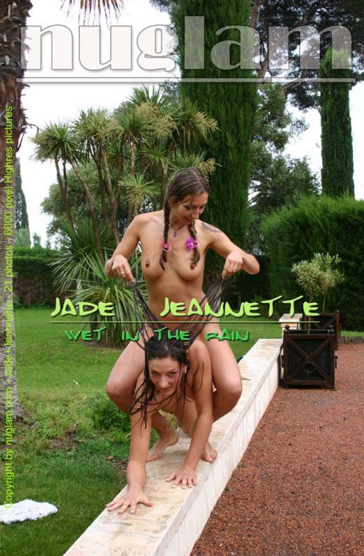 Jade & Jeanette - `Wet In The Rain` - by Mik Hartmann for NUGLAM