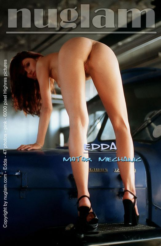 Edda - `Motor Mechanic` - by Mik Hartmann for NUGLAM