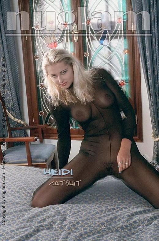 Heidi - `Catsuit` - by Mik Hartmann for NUGLAM