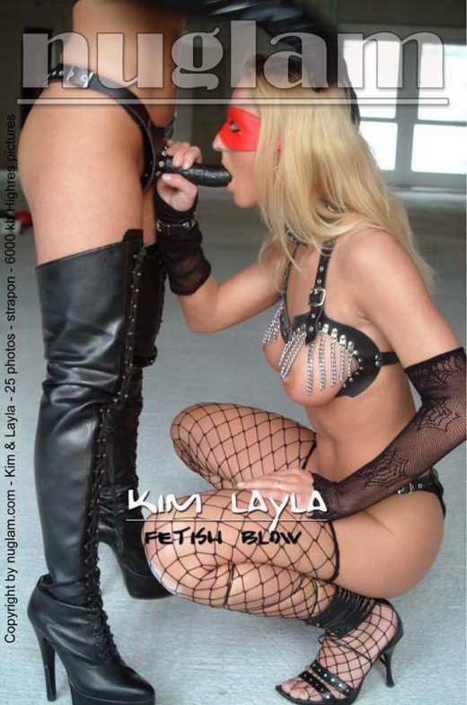 Kim & Layla - `Fetish Blow` - by Mik Hartmann for NUGLAM