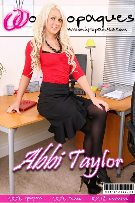 Abbi Taylor - for ONLY-OPAQUES COVERS