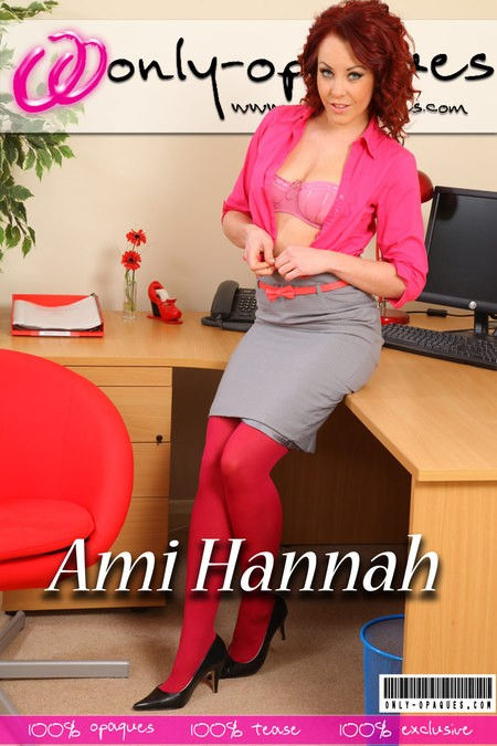 Ami Hannah - for ONLY-OPAQUES COVERS