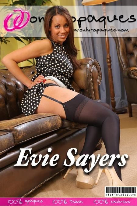 Evie Sayers - for ONLY-OPAQUES COVERS