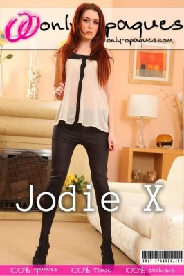 Jodie X  from ONLY-OPAQUES COVERS