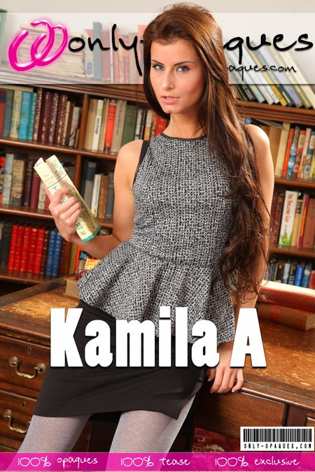 Kamila A - for ONLY-OPAQUES COVERS