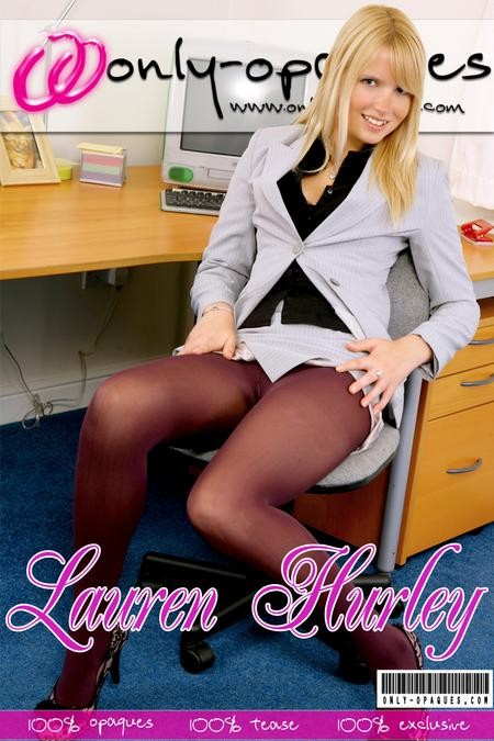 Lauren Hurley - for ONLY-OPAQUES COVERS