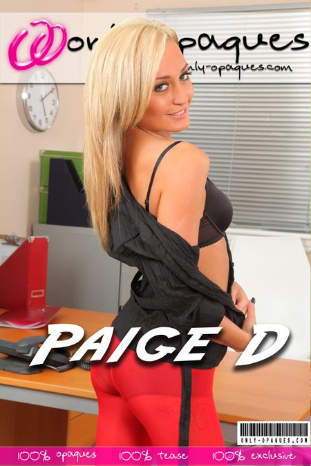 Paige D - for ONLY-OPAQUES COVERS