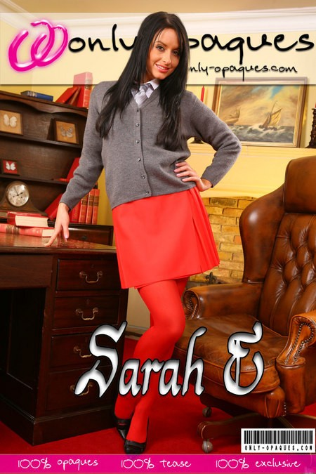 Sarah E - for ONLY-OPAQUES COVERS