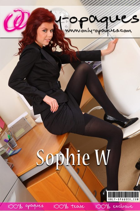 Sophie W - for ONLY-OPAQUES COVERS