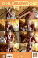Kathia Nobili in Making The Sauna Hotter! video from ONLYBLOWJOB