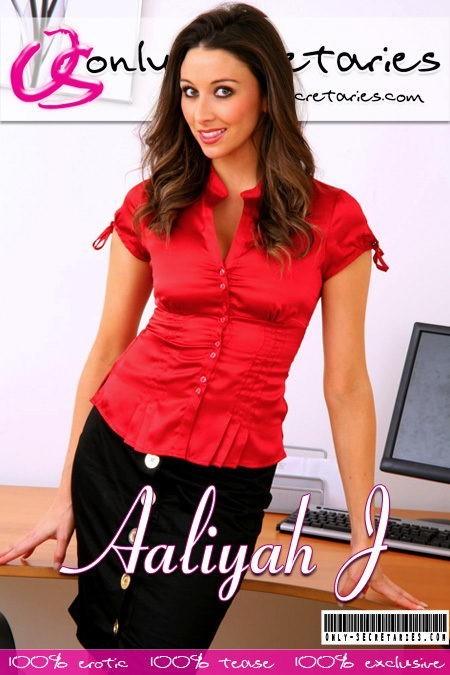 Aaliyah J - for ONLYSECRETARIES COVERS