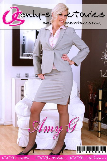 Amy G - for ONLYSECRETARIES COVERS