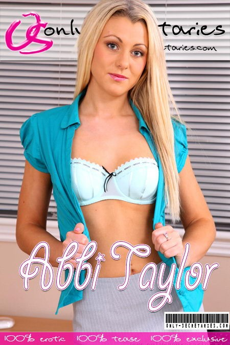 Abbi Taylor - for ONLYSECRETARIES COVERS