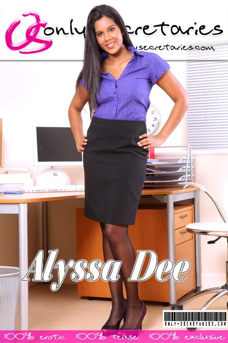 Alyssa Dee - for ONLYSECRETARIES COVERS