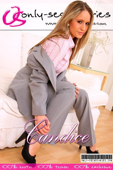 Candice - for ONLYSECRETARIES COVERS