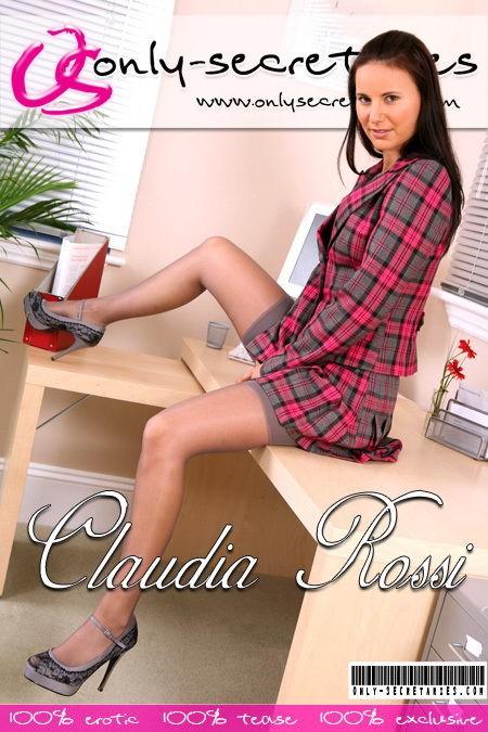 Claudia Rossi - for ONLYSECRETARIES COVERS